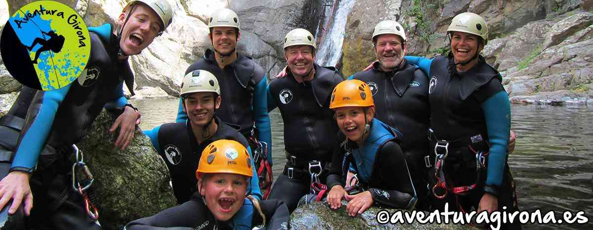 Canyoning Anelles Ceret France