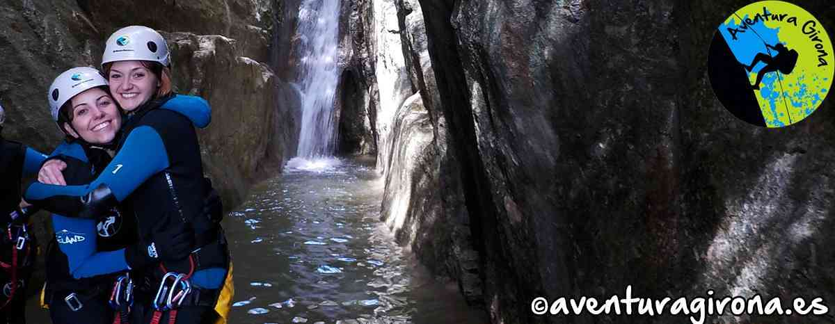 Canyoning Torrent Gravet Rupit Barcelona